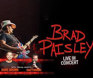 Brad Paisley Live