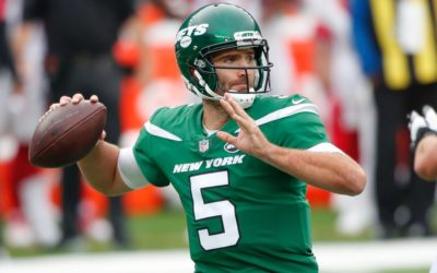Joe Flacco signs with the Jets